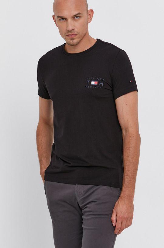 Tommy Hilfiger - Tričko černá