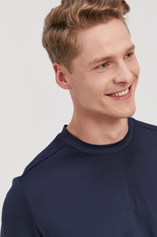 granatowy adidas - T-shirt
