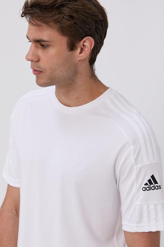 biały adidas Performance - T-shirt
