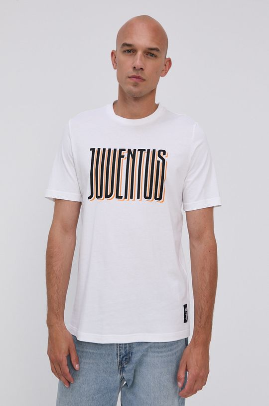 biały adidas Performance - T-shirt bawełniany Męski