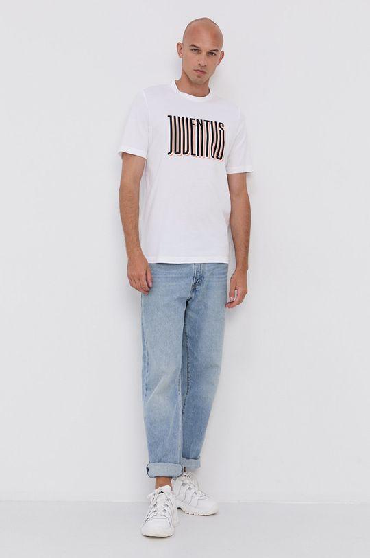 adidas Performance - T-shirt bawełniany biały