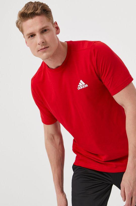 červená adidas - Tričko