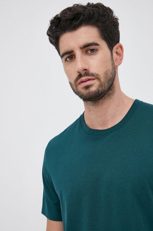 ciemny zielony Boss - T-shirt bawełniany