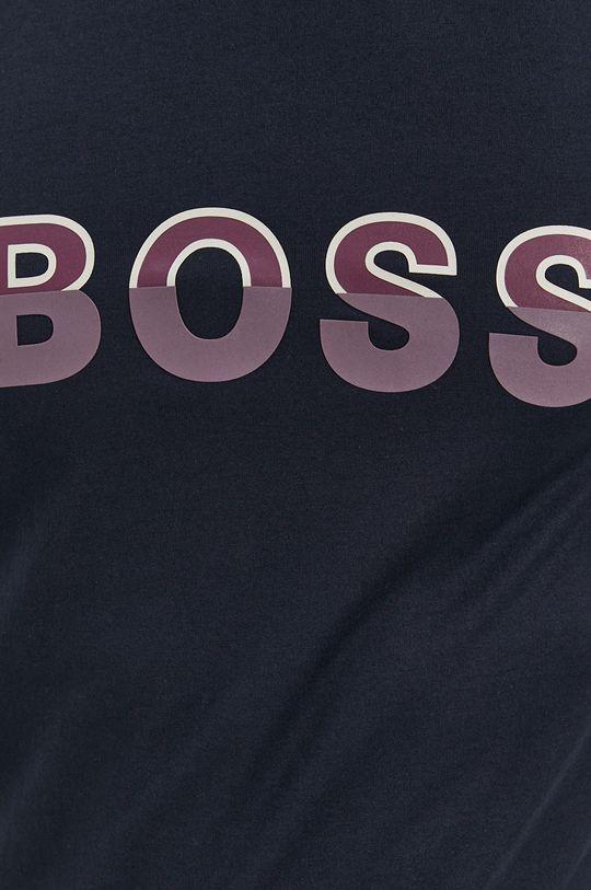Boss - T-shirt bawełniany Męski