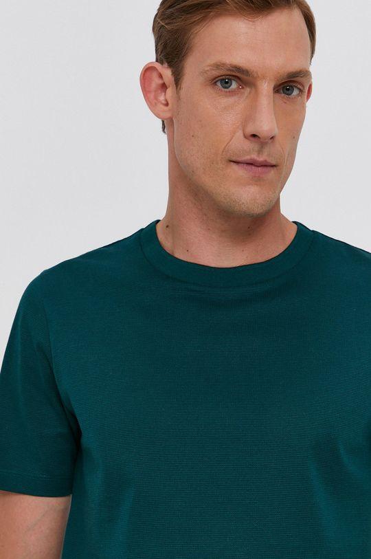 ciemny zielony Boss - T-shirt