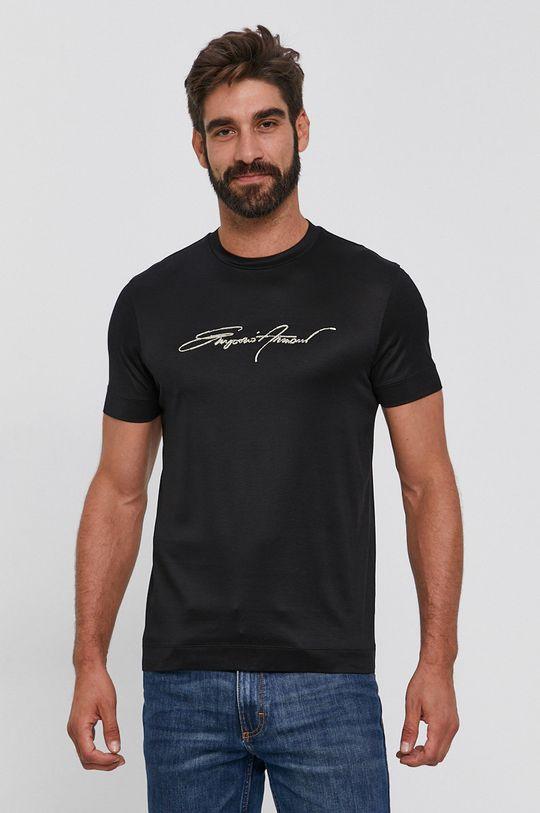 Emporio Armani - T-shirt czarny