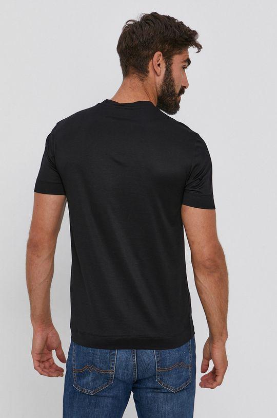 Emporio Armani - T-shirt 30 % Bawełna, 70 % Lyocell