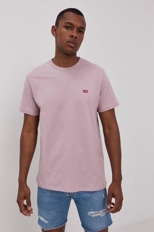 fioletowy Levi's - T-shirt Męski