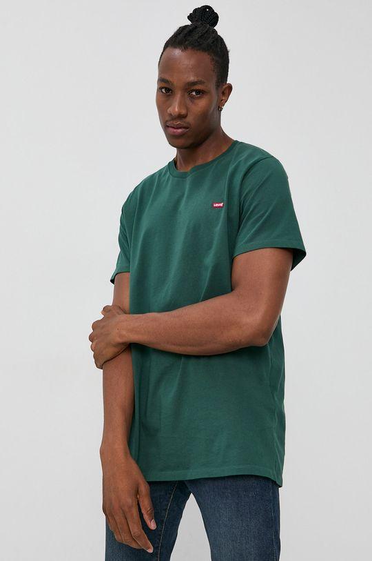 zielony Levi's - T-shirt bawełniany