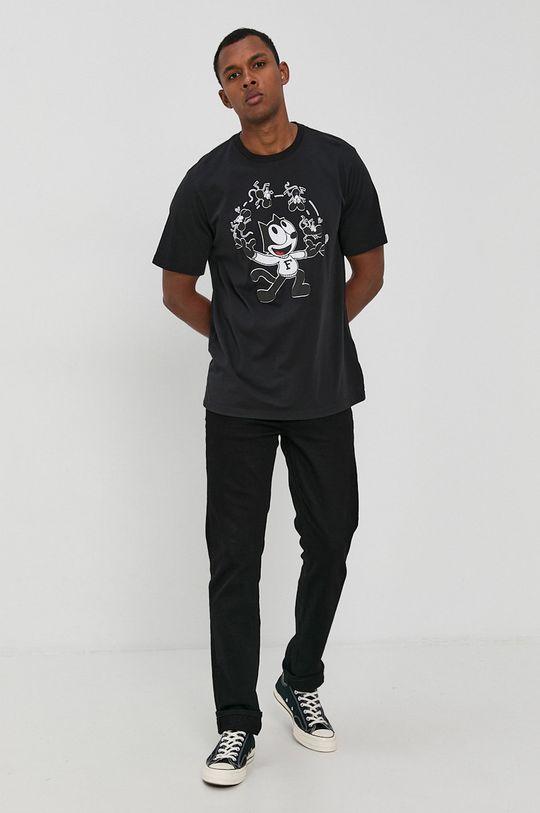Levi's - T-shirt bawełniany x Felix The Cat czarny