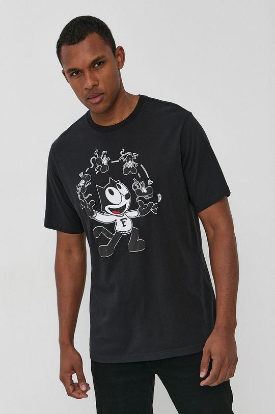 czarny Levi's - T-shirt bawełniany x Felix The Cat