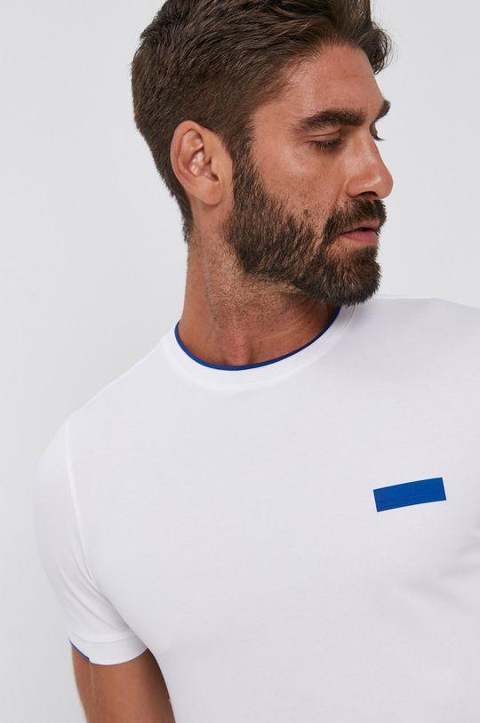 biały Boss - T-shirt Męski