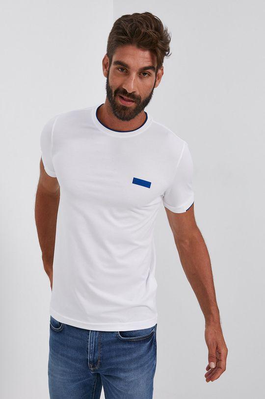 biały Boss - T-shirt
