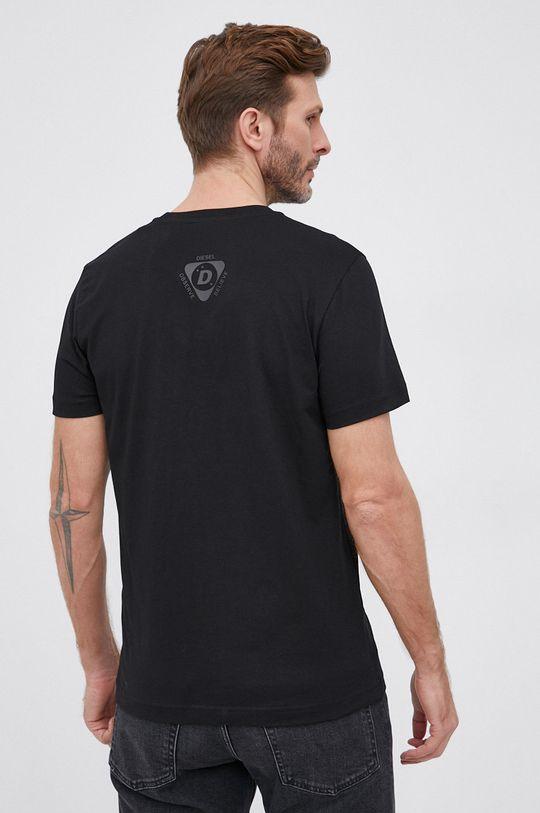 Diesel - T-shirt bawełniany 100 % Bawełna