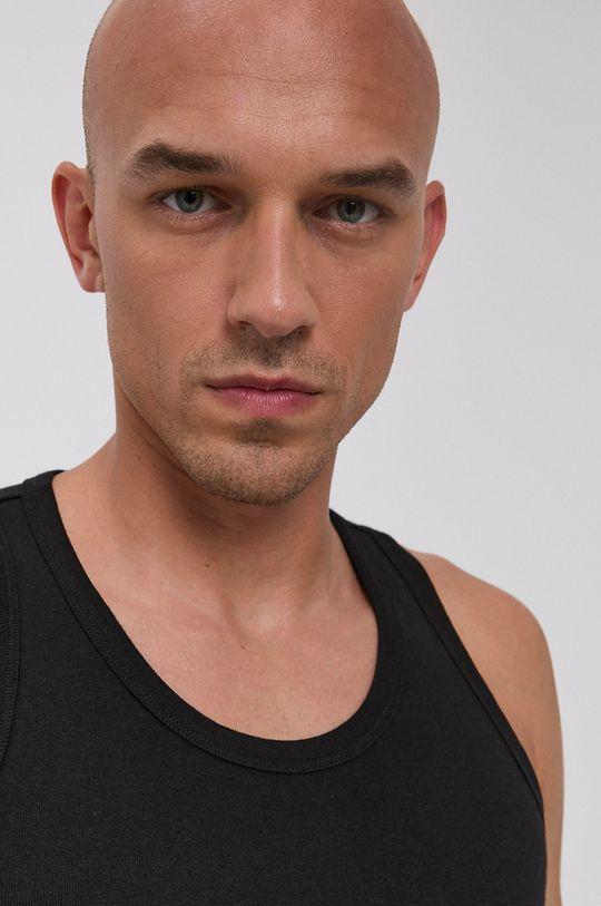 czarny Puma - T-shirt bawełniany (2-pack)