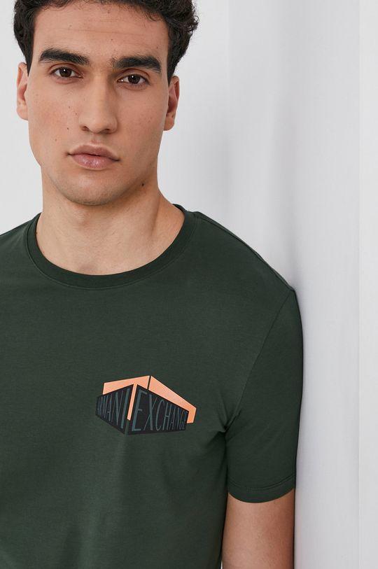 okrová Armani Exchange - Tričko