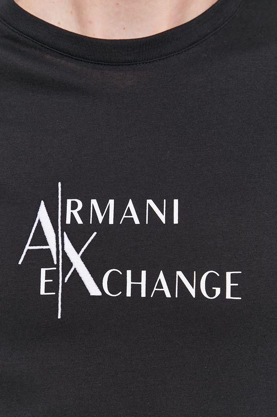 Armani Exchange - Bavlněné tričko Pánský