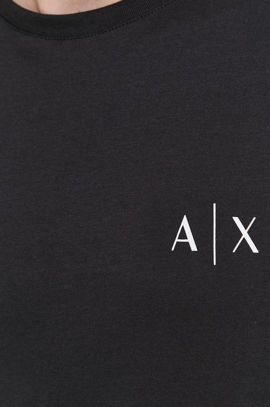 Armani Exchange - T-shirt bawełniany Męski