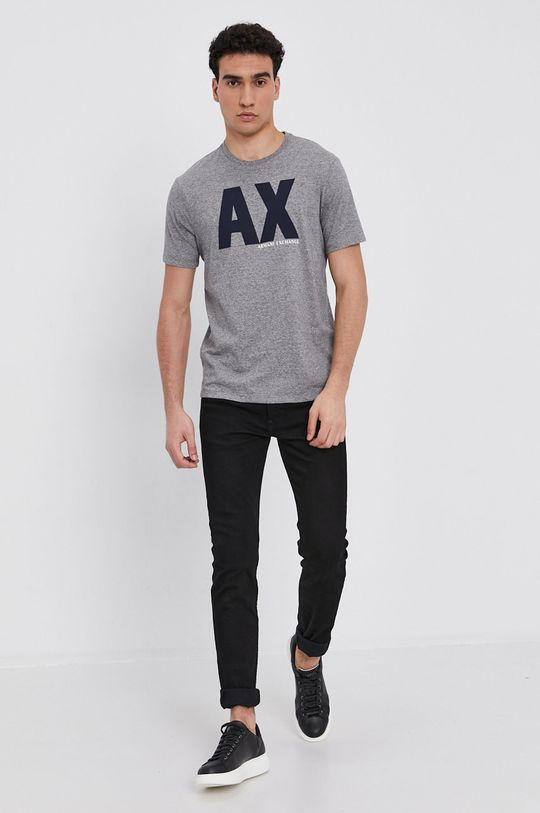 Armani Exchange - T-shirt szary