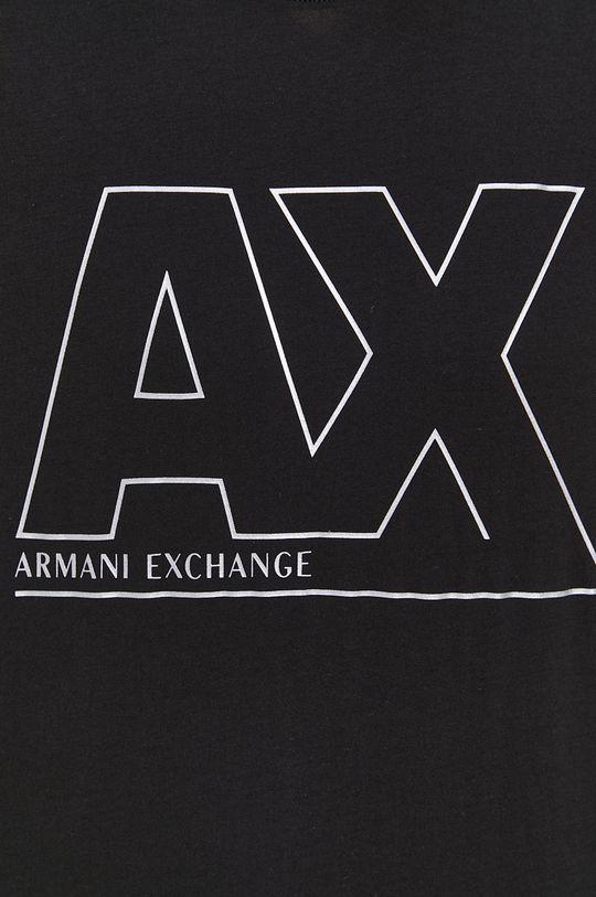 Armani Exchange - Bavlnené tričko Pánsky
