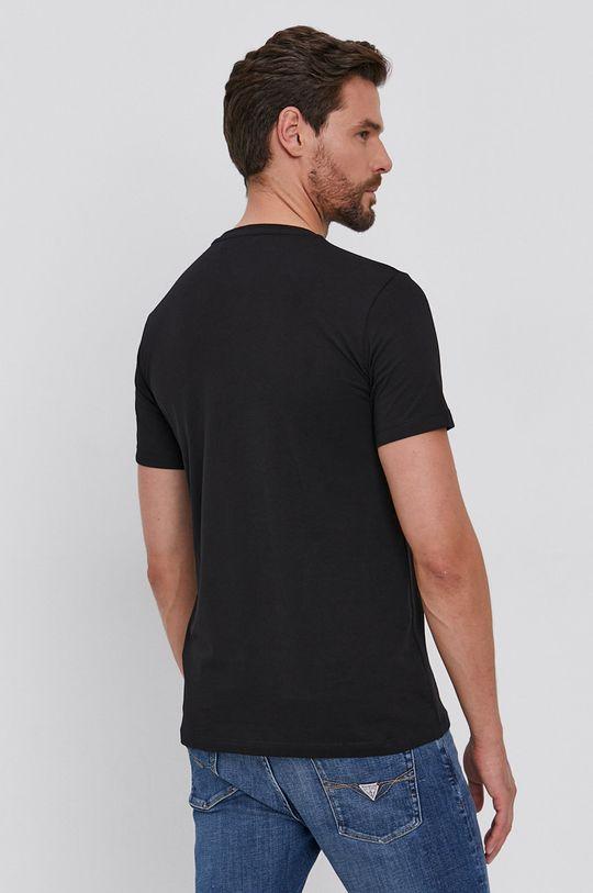 Trussardi - T-shirt bawełniany czarny