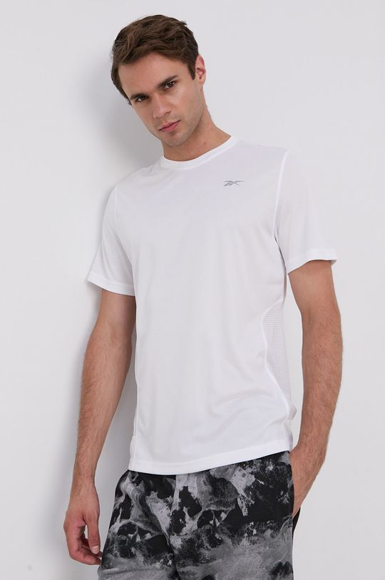 bílá Reebok - Tričko Pánský