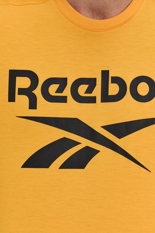 żółty Reebok - T-shirt