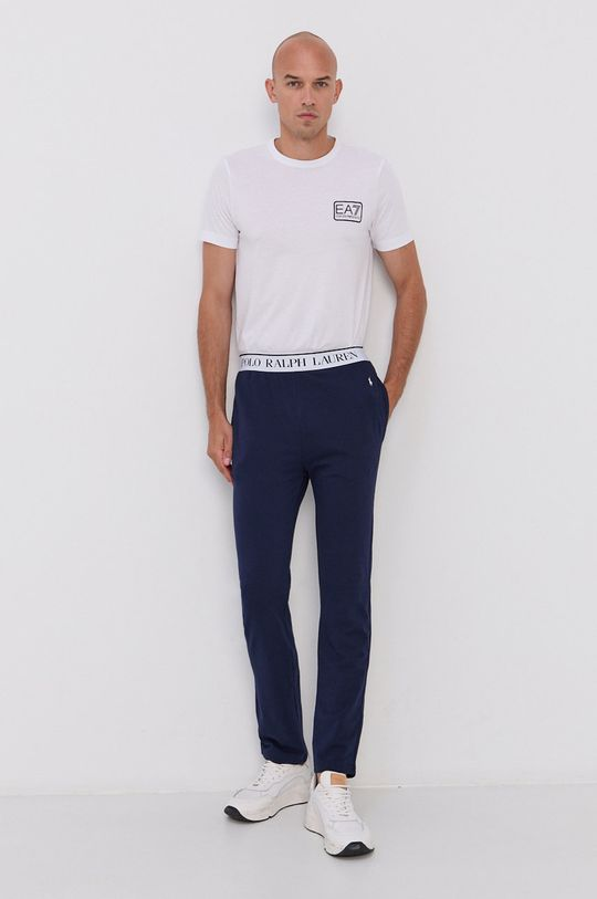 EA7 Emporio Armani - T-shirt biały