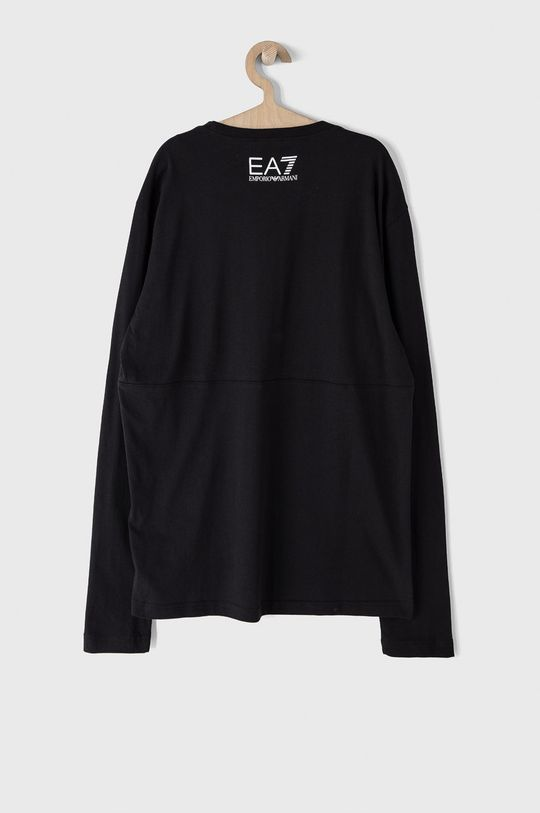 EA7 Emporio Armani - Tričko s dlouhým rukávem černá