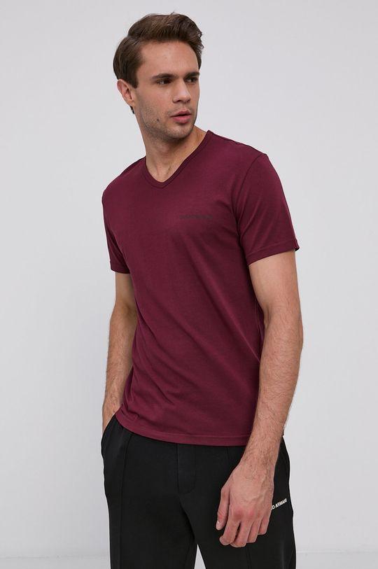 Emporio Armani Underwear - Tričko (2-pack) kaštanová