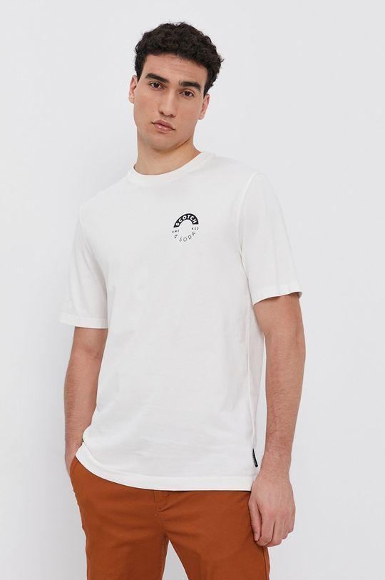 krémová Scotch & Soda - Bavlnené tričko