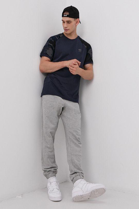 adidas Originals - Bavlnené tričko tmavomodrá