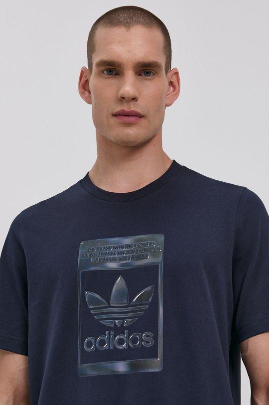 námořnická modř adidas Originals - Tričko