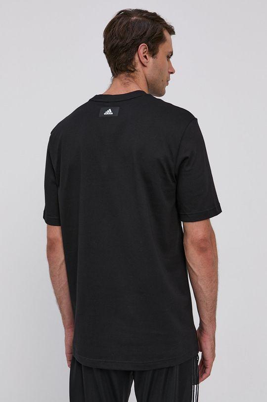 adidas Performance - T-shirt 50 % Bawełna, 30 % Poliester, 20 % Bawełna z recyklingu