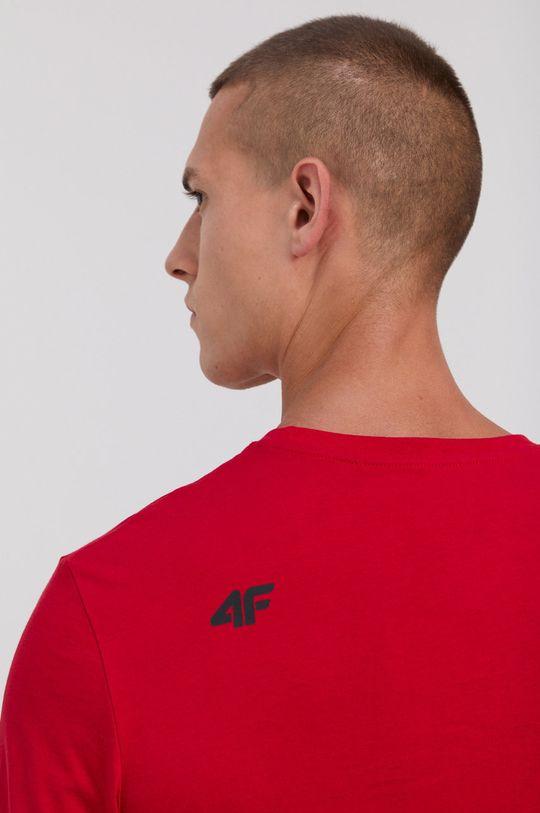 4F - T-shirt bawełniany Męski