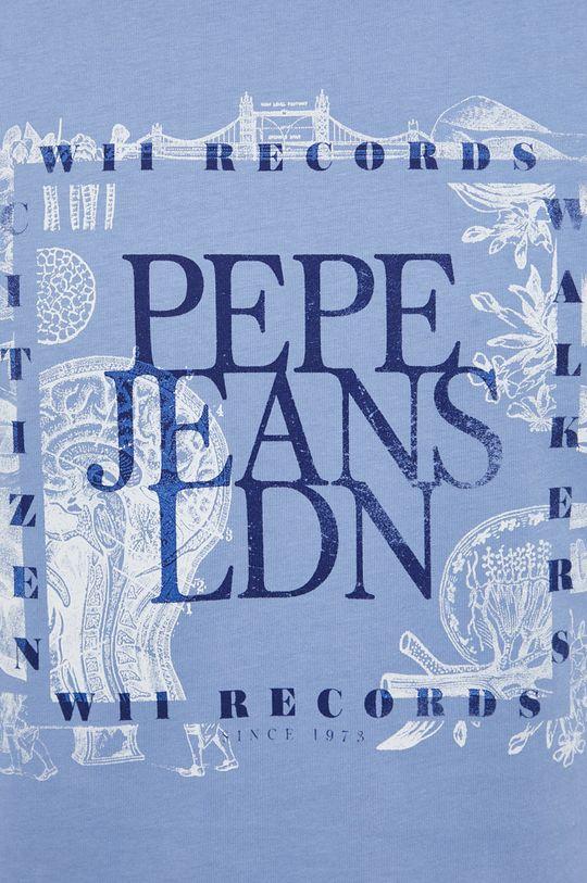 Pepe Jeans - Bavlněné tričko Steve Pánský
