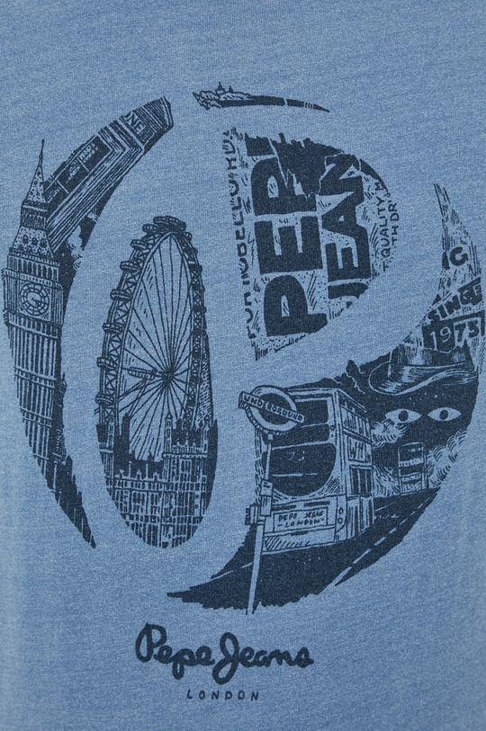 Pepe Jeans - Bavlněné tričko Santino Pánský