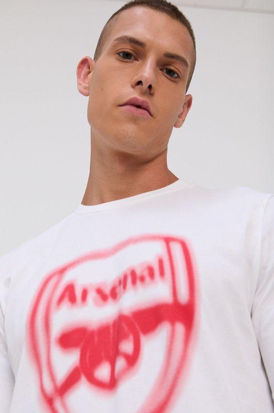 alb adidas Performance - Tricou din bumbac De bărbați