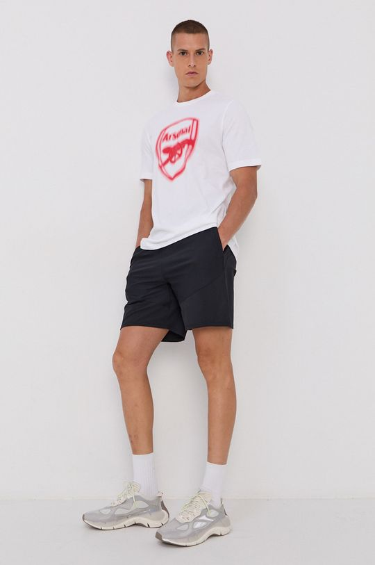 adidas Performance - Tricou din bumbac alb