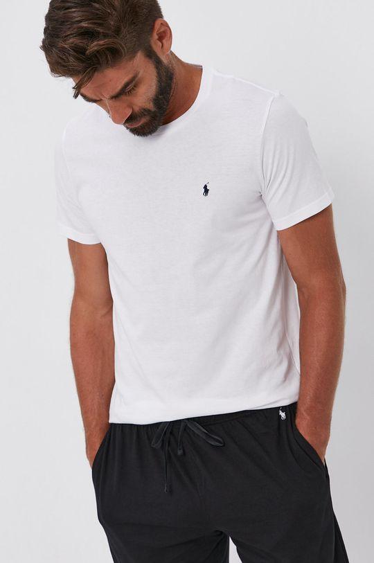bílá Polo Ralph Lauren - Bavlněné tričko
