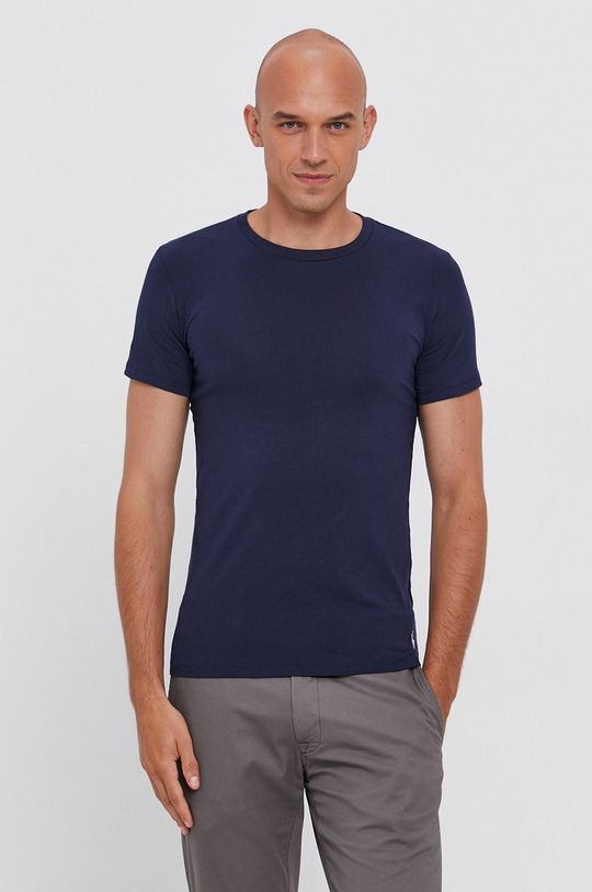 granatowy Polo Ralph Lauren - T-shirt (2-pack) Męski