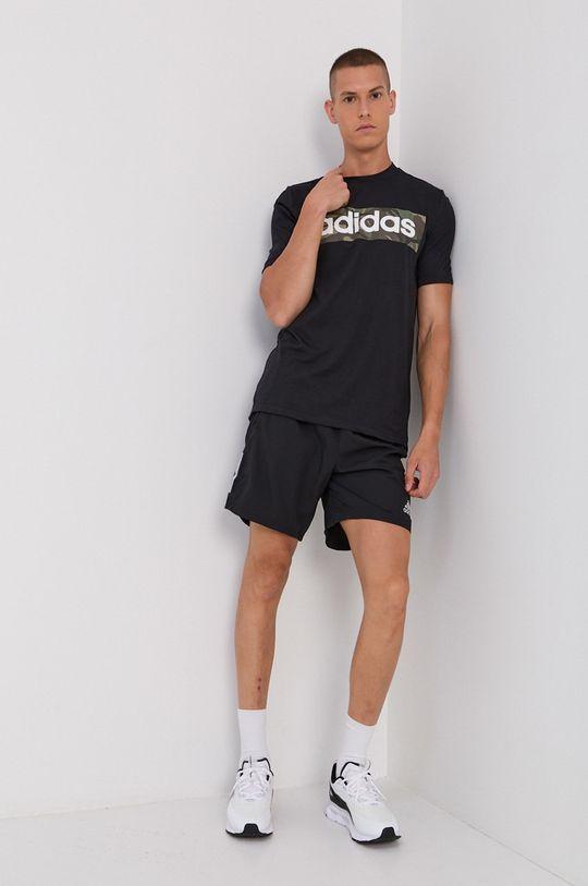 adidas - Tricou negru