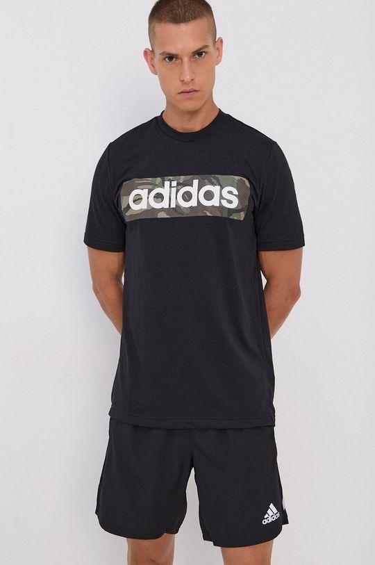negru adidas - Tricou