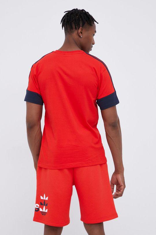 adidas Originals - T-shirt bawełniany czerwony