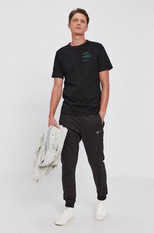 G-Star Raw - Bavlněné tričko černá