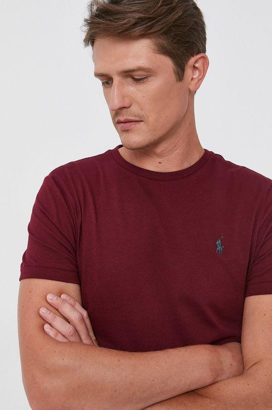 kasztanowy Polo Ralph Lauren - T-shirt bawełniany