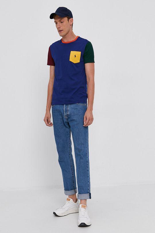 Polo Ralph Lauren - T-shirt bawełniany niebieski