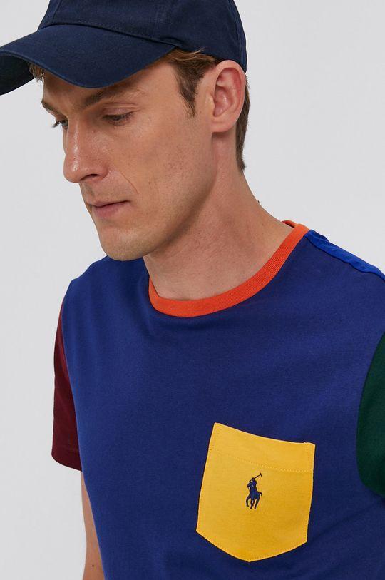 niebieski Polo Ralph Lauren - T-shirt bawełniany
