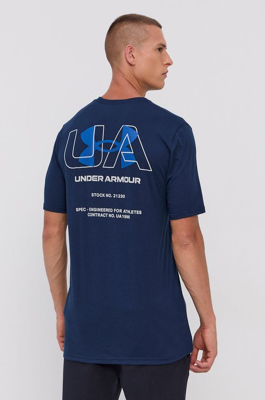 Under Armour - T-shirt 60 % Bawełna, 40 % Poliester