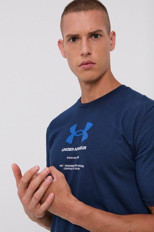 granatowy Under Armour - T-shirt